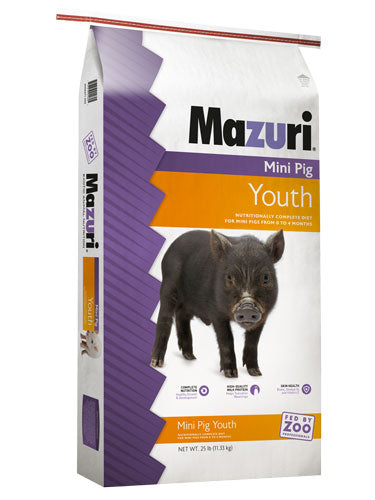 Mazuri® Mini Pig Youth Feed