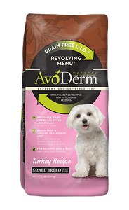 Avoderm Revolving Menu Small Breed LID Grain Free Turkey Recipe Adult Dry Dog Food