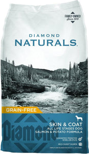 Diamond Naturals Grain Free Skin & Coat Formula All Life Stages Dry Dog Food