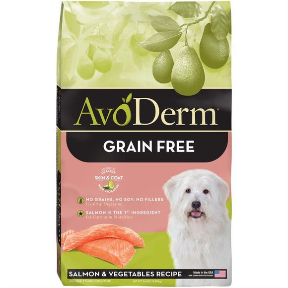 AvoDerm Grain Free Salmon & Vegetable Recipe Dry Dog Food