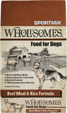 SPORTMiX Wholesomes Beef Meal & Rice Recipe Dry Dog Food