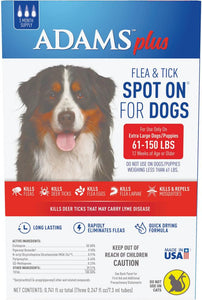 Adams Plus Spot On Flea & Tick For Extra Large Breed Dogs