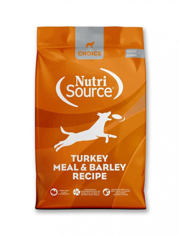 NutriSource Choice Turkey Meal & Barley Recipe Dry Dog Food