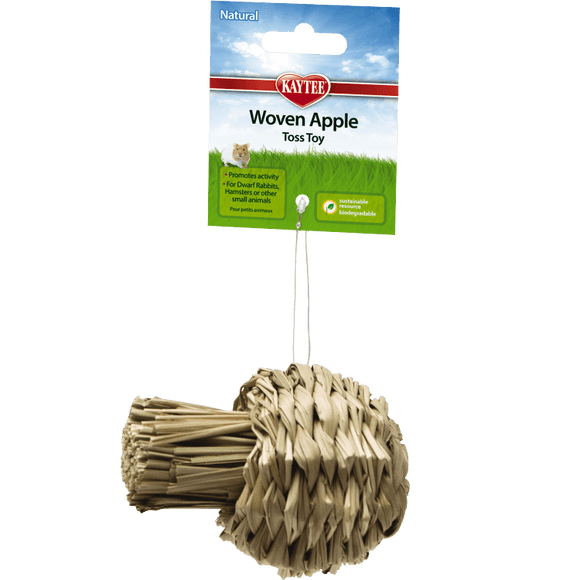 Kaytee Natural Woven Apple Toss Toy