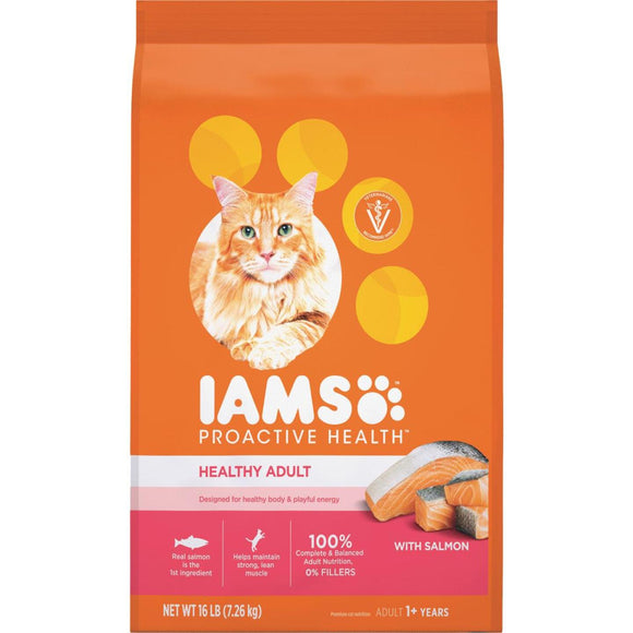 Iams Proactive Health 16 Lb. Salmon & Tuna Flavor Adult Cat Food