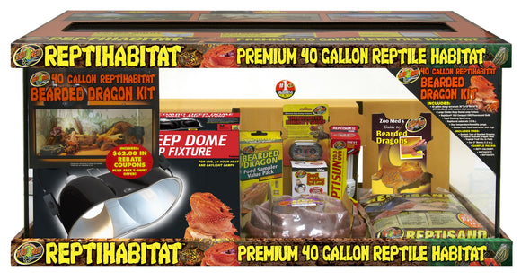 40 Gallon ReptiHabitat™ Bearded Dragon Kit