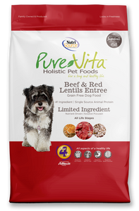 Nutrisource Purevita Beef & Red Lentils Entrée Dog Food