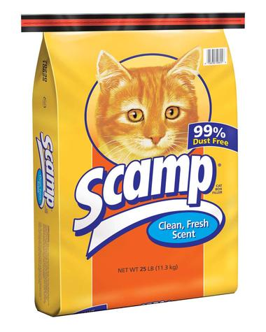 Scamp Clean, Fresh Scent Cat Box Filler