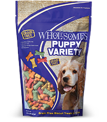Wholesomes™ Puppy Variety Biscuit Treats