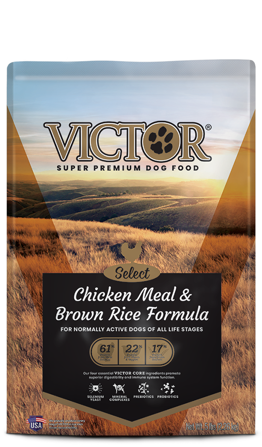 Victor Chicken Meal & Brown Rice Formula