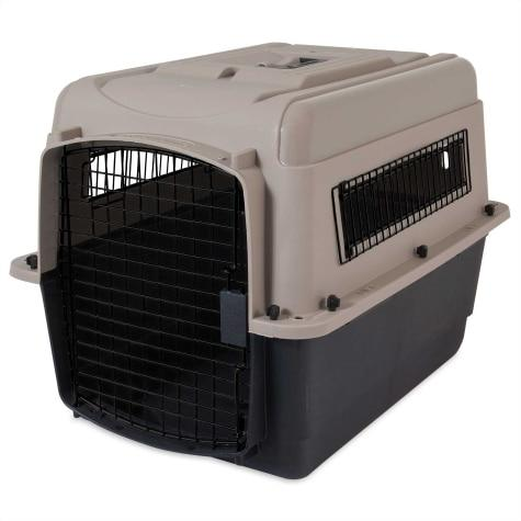 Petmate Ultra Vari Kennel Taupe/Black