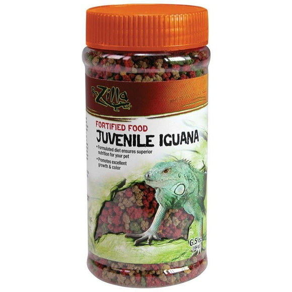 FORTIFIED JUVENILE IGUANA FOOD