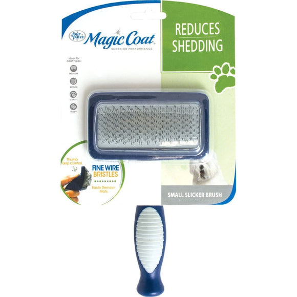MAGIC COAT SLICKER BRUSH W/FINE WIRE BRISTLES