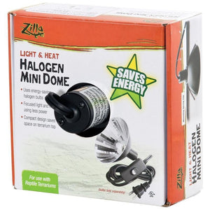 HALOGEN MINI DOME FIXTURE HEAT AND LIGHT