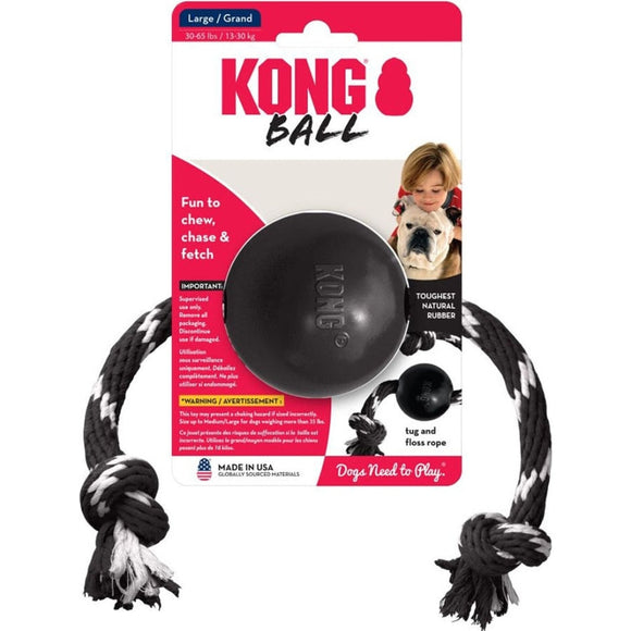 KONG EXTREME BALL WITH ROPE
