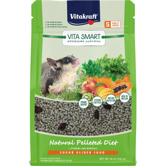 VITA SMART NATURAL PELLETED DIET SUGAR GLIDER