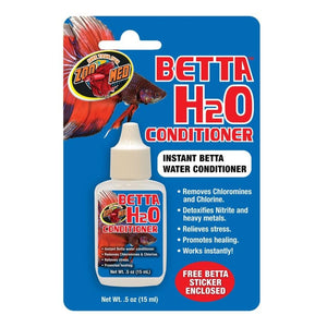 ZOO MED BETTA H20 CONDITIONER INSTANT H2O CONDITIONER