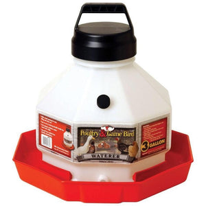 Little Giant Plastic Poultry Waterer