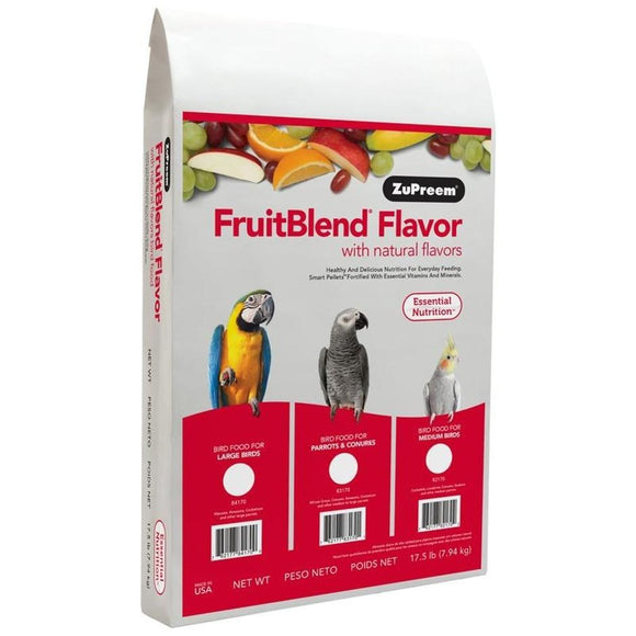 FRUITBLEND WITH NATURAL FRUIT FLAVORS MD/LG PARROT