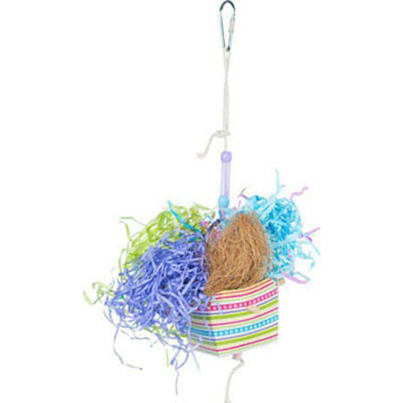 PREVUE BASKET BANQUET BIRD TOY