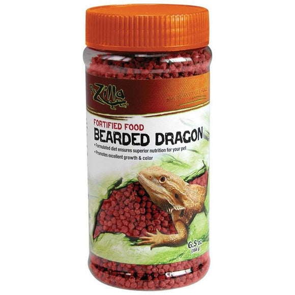 FORTIFIED BEARDED DRAGON FOOD