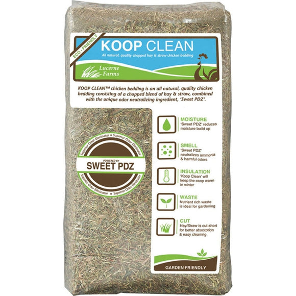 KOOP CLEAN HAY & STRAW BEDDING