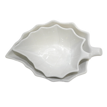 Load image into Gallery viewer, Porcelain Leaf Shaped Bowl - Akil Bros
