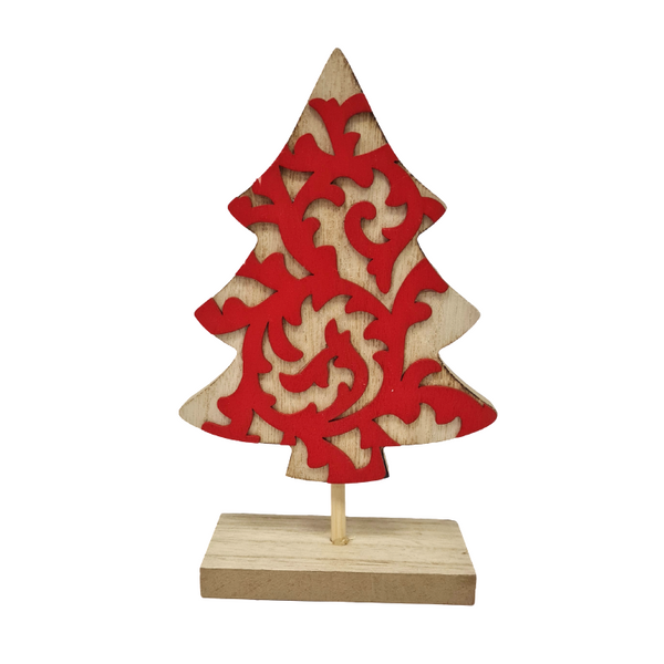 Wooden Tree Deco