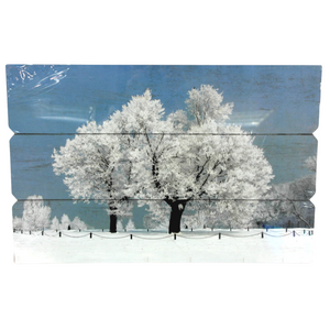 Winter Painting Wall Decoration