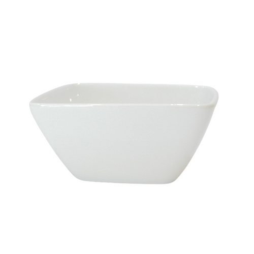 Porcelain Small Squared Bowl - Akil Bros