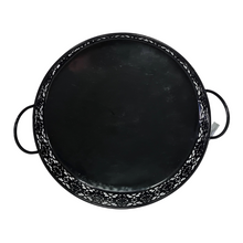 Load image into Gallery viewer, Black Metal Basket - 34 cm