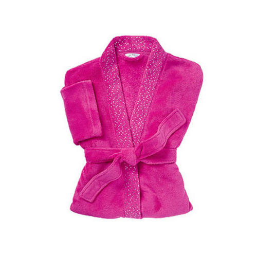 Jeweled Hot Pink Robe - Akil Bros