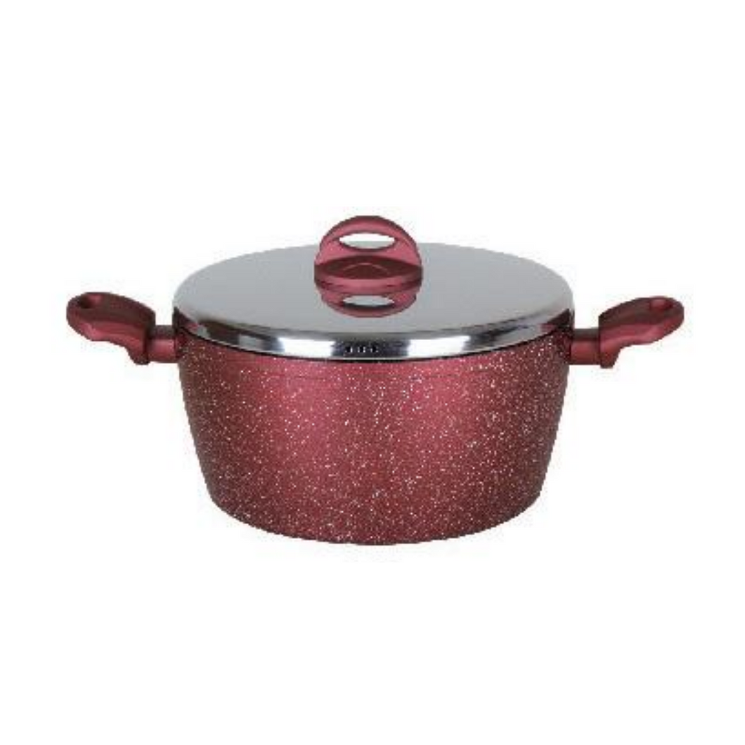 Casserole with Stainless Steel Lid - Akil Bros