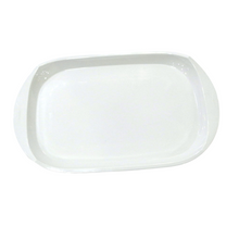 Load image into Gallery viewer, Plain White Rectangular Tray - Akil Bros