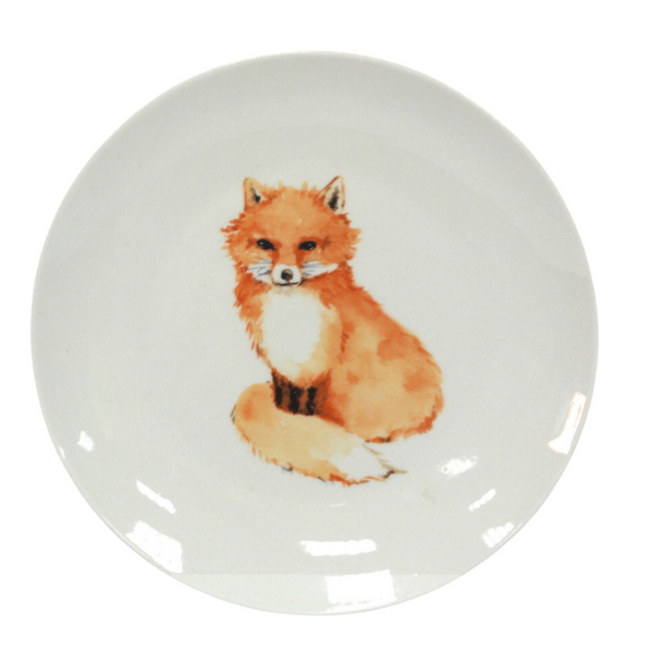 Fox Wall Decoration Plate