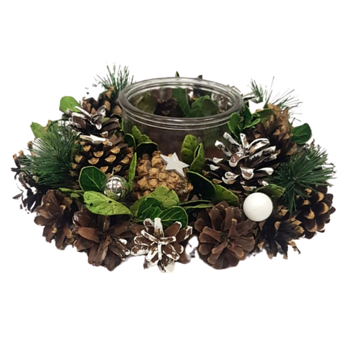 Wreath Candle Holder - Akil Bros
