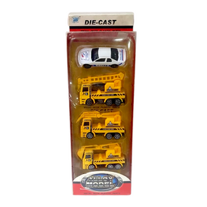 Die-cast Metal Construction Vehicle Toys - Akil Bros