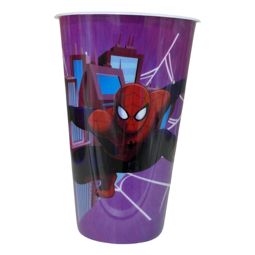 X-Large Spiderman Plastic Cup - Akil Bros