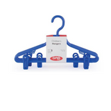 Gab Plastic Set of 3 Children Hangers with Clip
