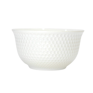 Small Porcelain Honeycomb Bowl - Akil Bros