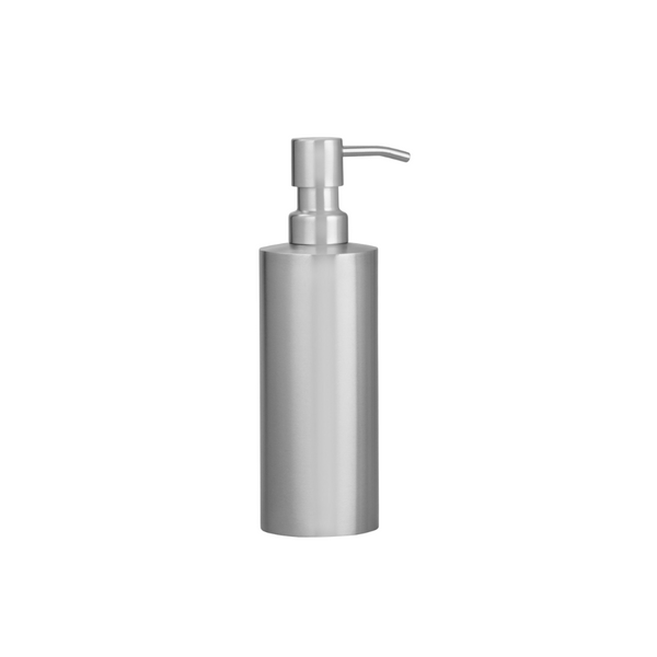 Stainless Steel Cylindrical Liquid Soap Dispenser