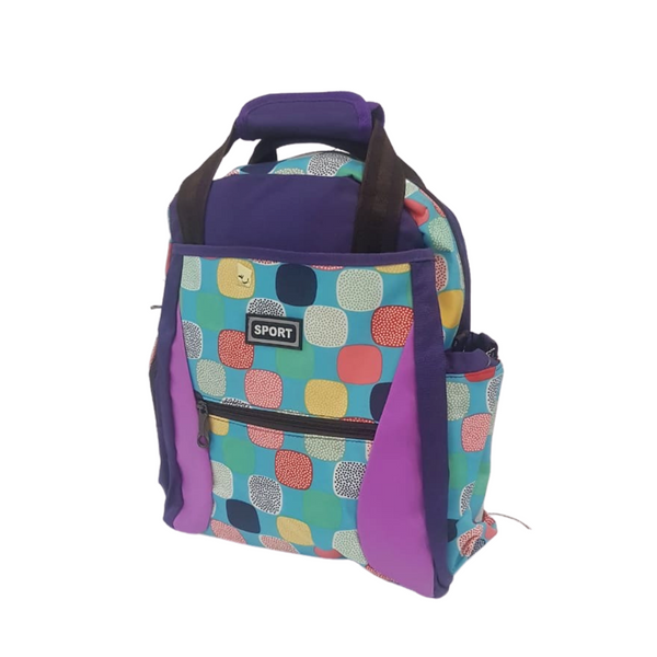 Colorful Backpack w/ Handles