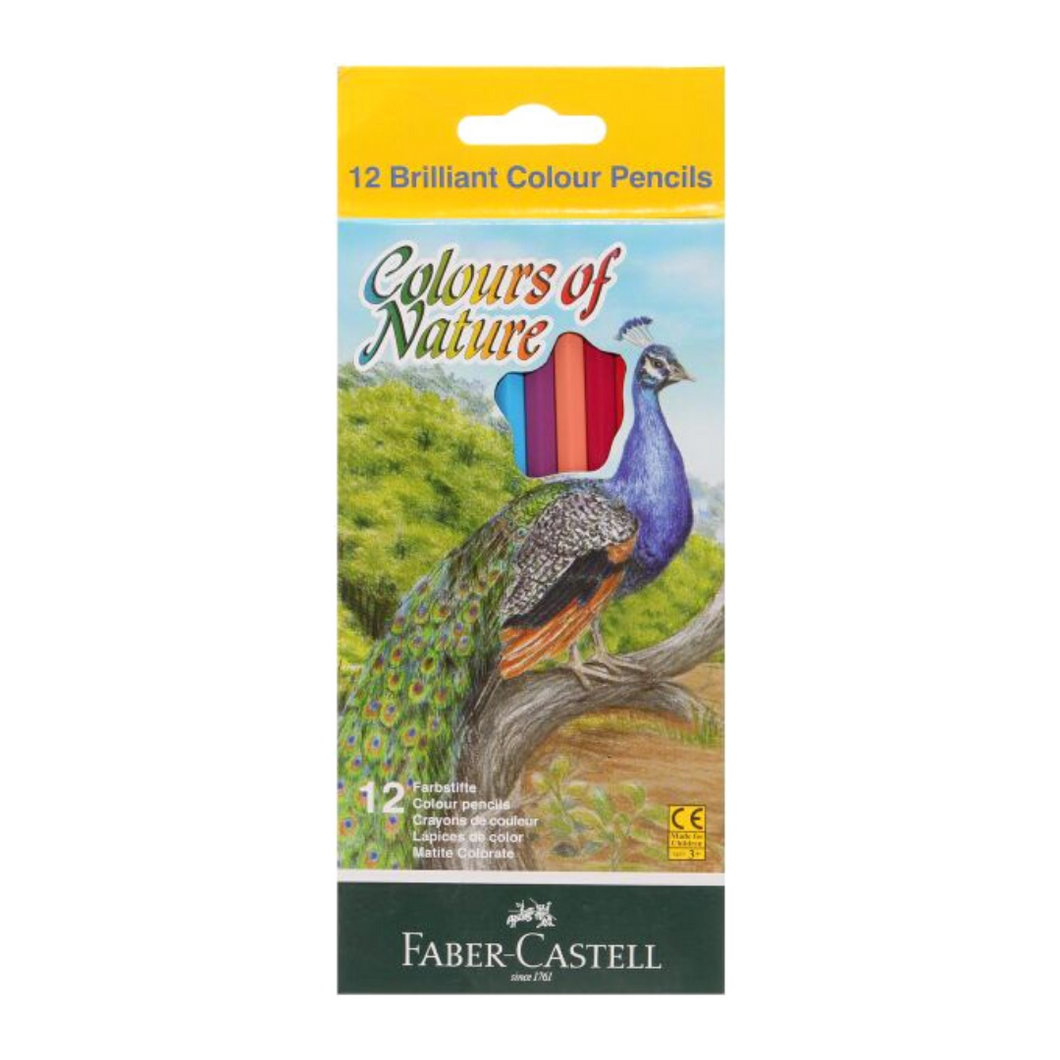 Faber-Castell Coloring Pencils - 12 Pack - Akil Bros