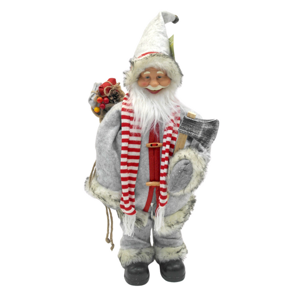 Large Forest Santa w/ Axe - 80 cm