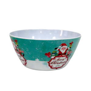 Small Melamine Christmas Bowl