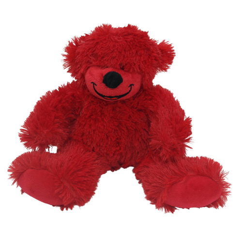 Red Bear Plush - Akil Bros