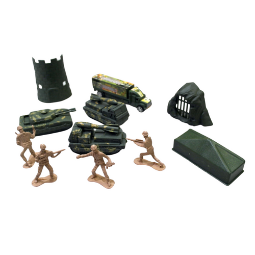 Military Base Toy Figures - Akil Bros