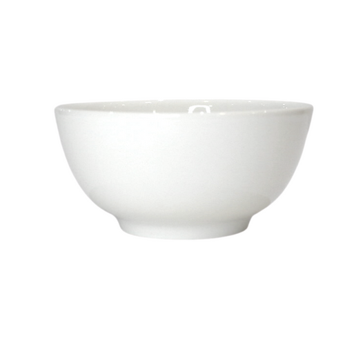 Small Plain Porcelain Bowl - Akil Bros