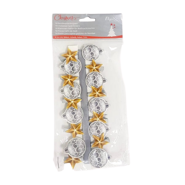Christmas Card Holder - 18 PCS