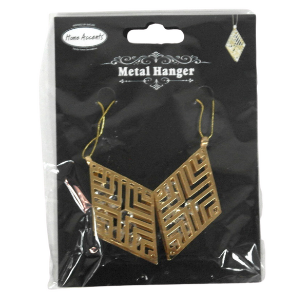 Diamond Shaped Metal Hangers